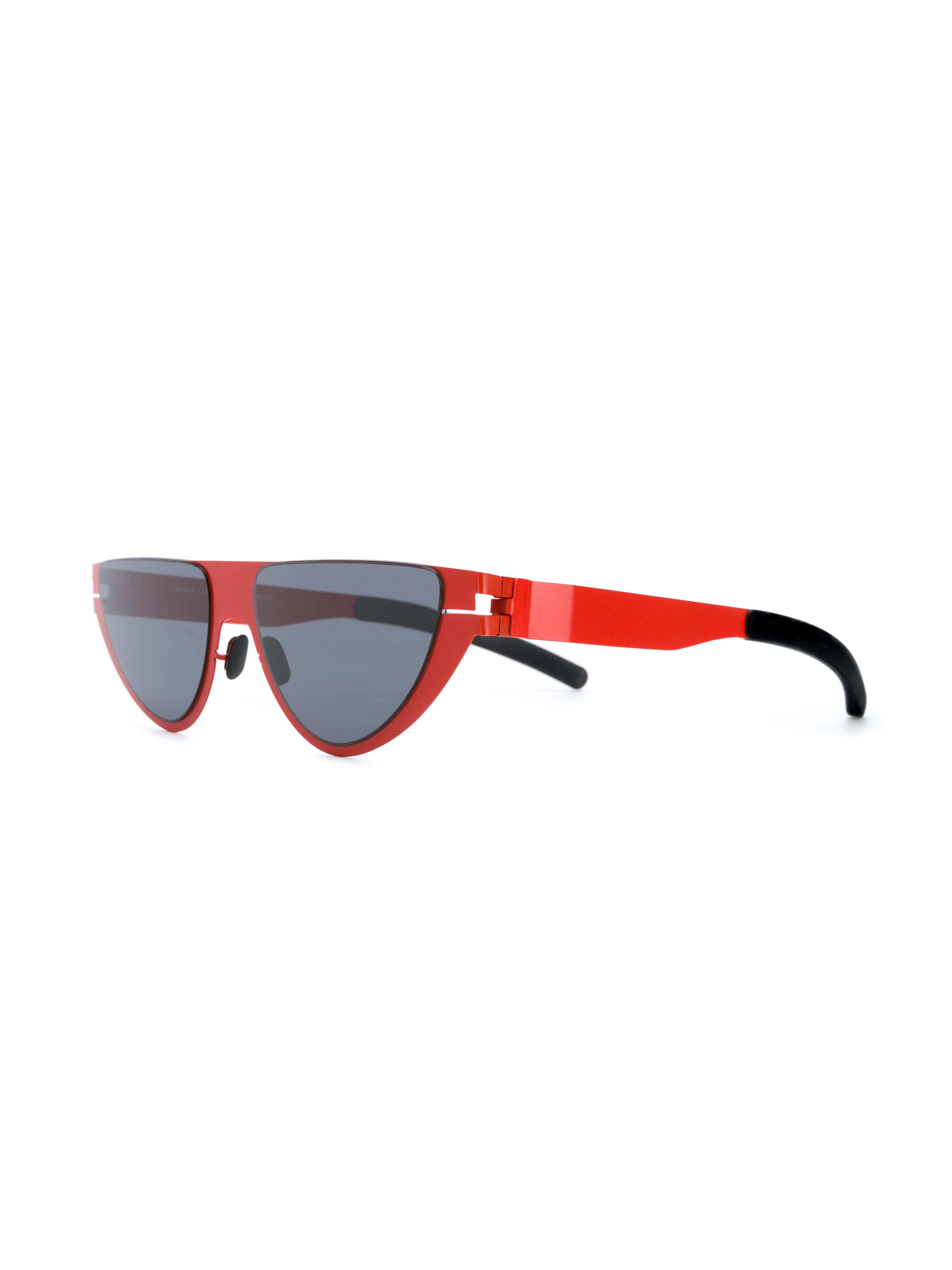 b31381846fc Mykita X Martine Rose Cat Eye Frame Sunglasses in Red - Save 47% - Lyst