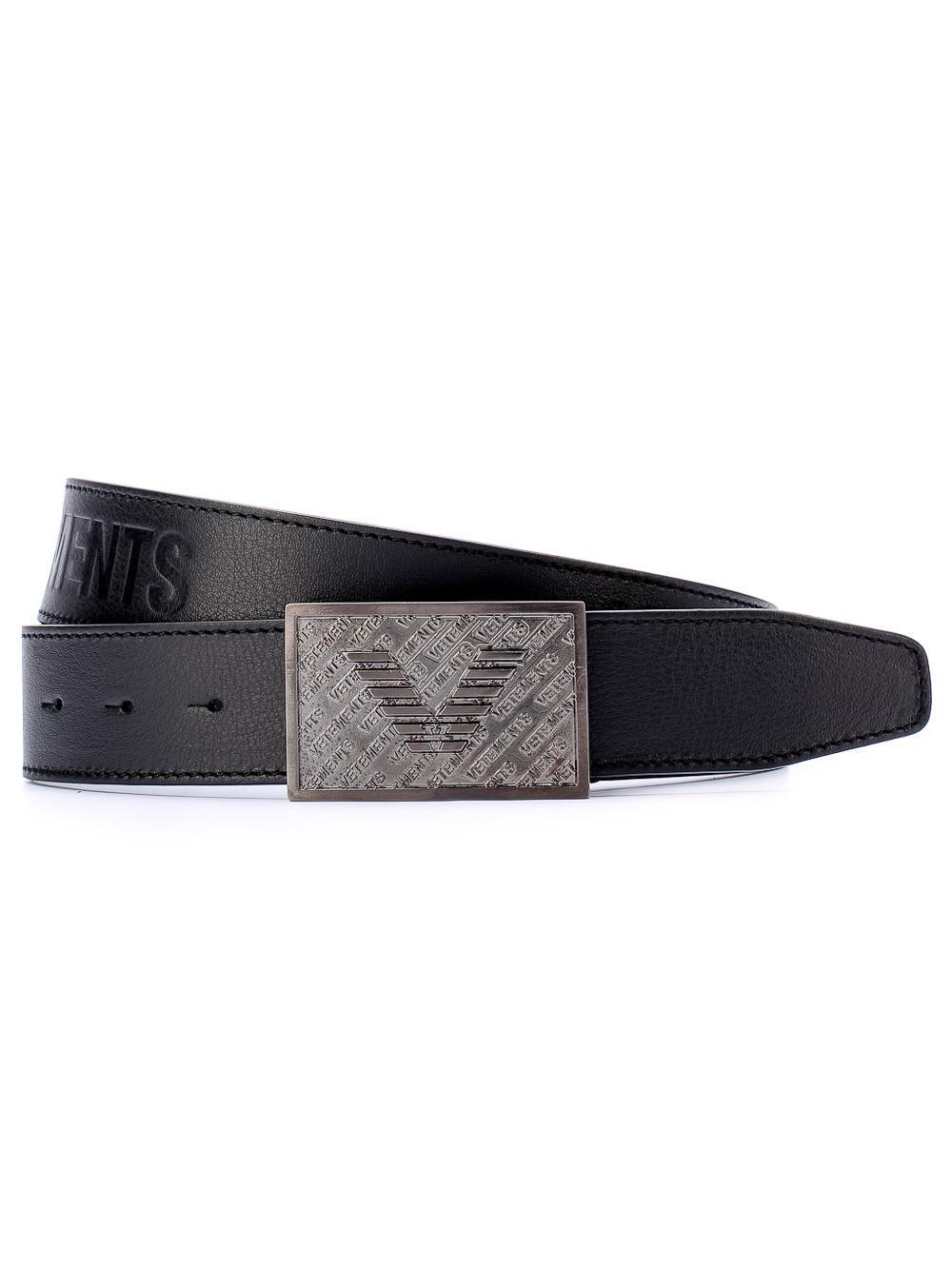 Black XL Belt VETEMENTS xpGL38Ti