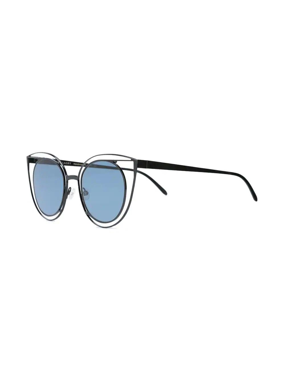 162141e54e Thierry Lasry - Blue Morphology Cat Eye Sunglasses - Lyst. View fullscreen