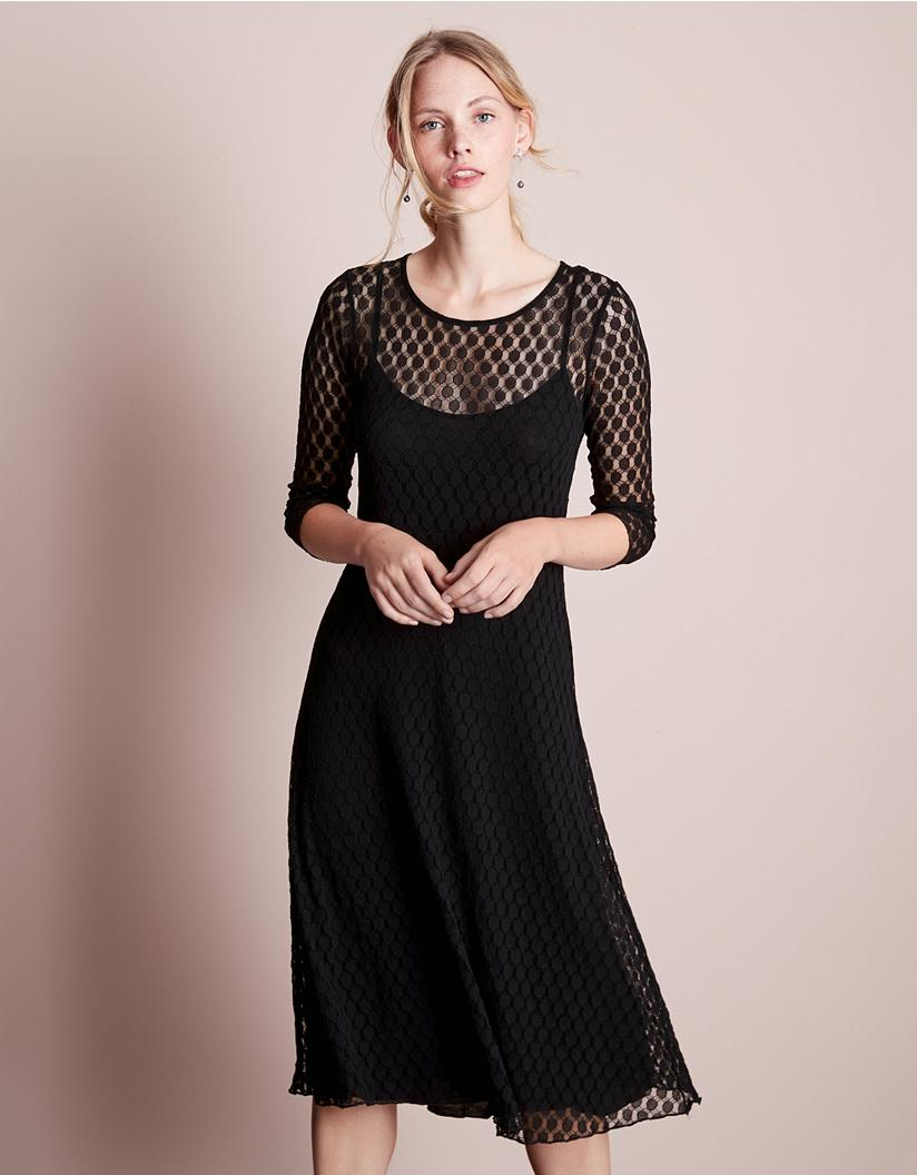 great variety styles classic style of 2019 detailing Spot Lace Dress
