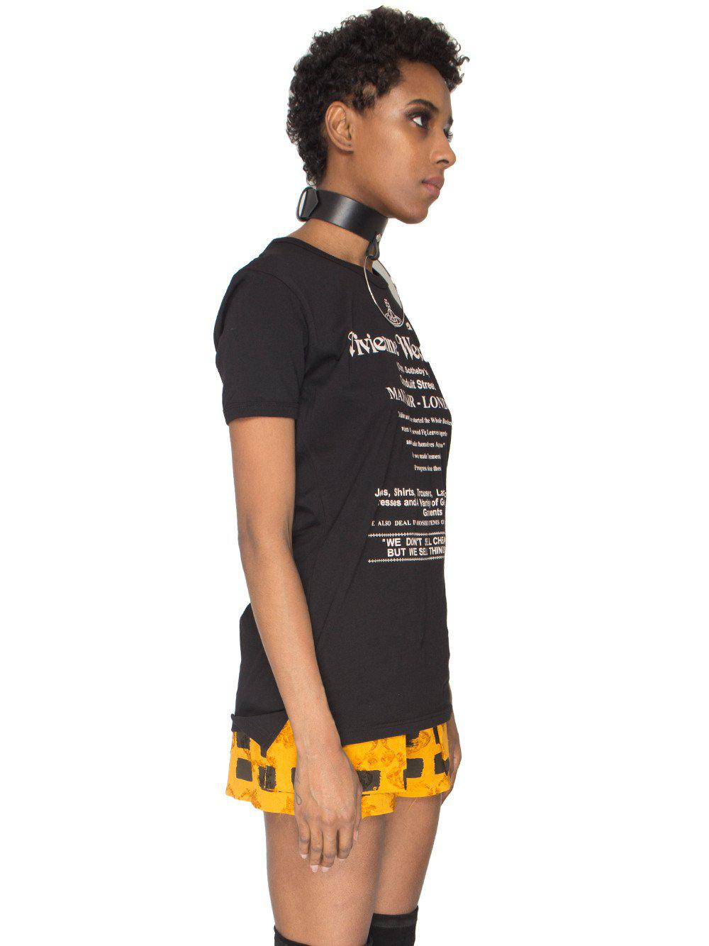 b158f2e2f9 Vivienne Westwood Anglomania We Don't Sell Cheap Things T-shirt in ...