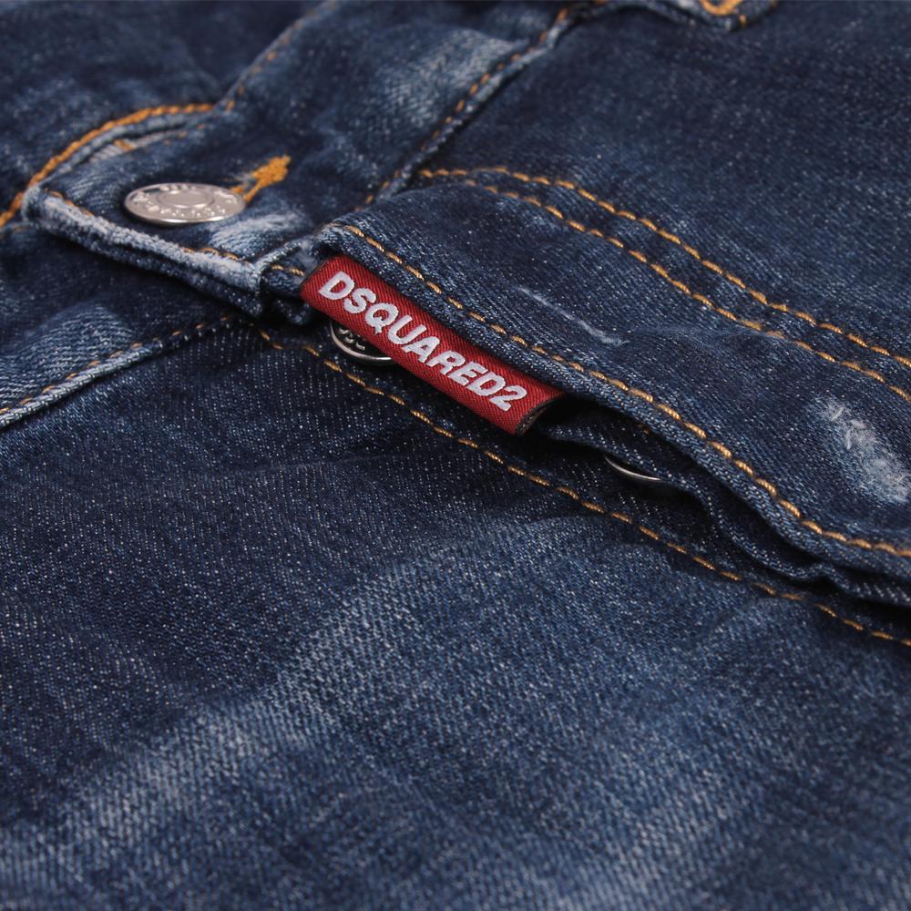 21b8bd56b14358 Dsquared² 2 Skater Jeans Blue in Blue for Men - Lyst