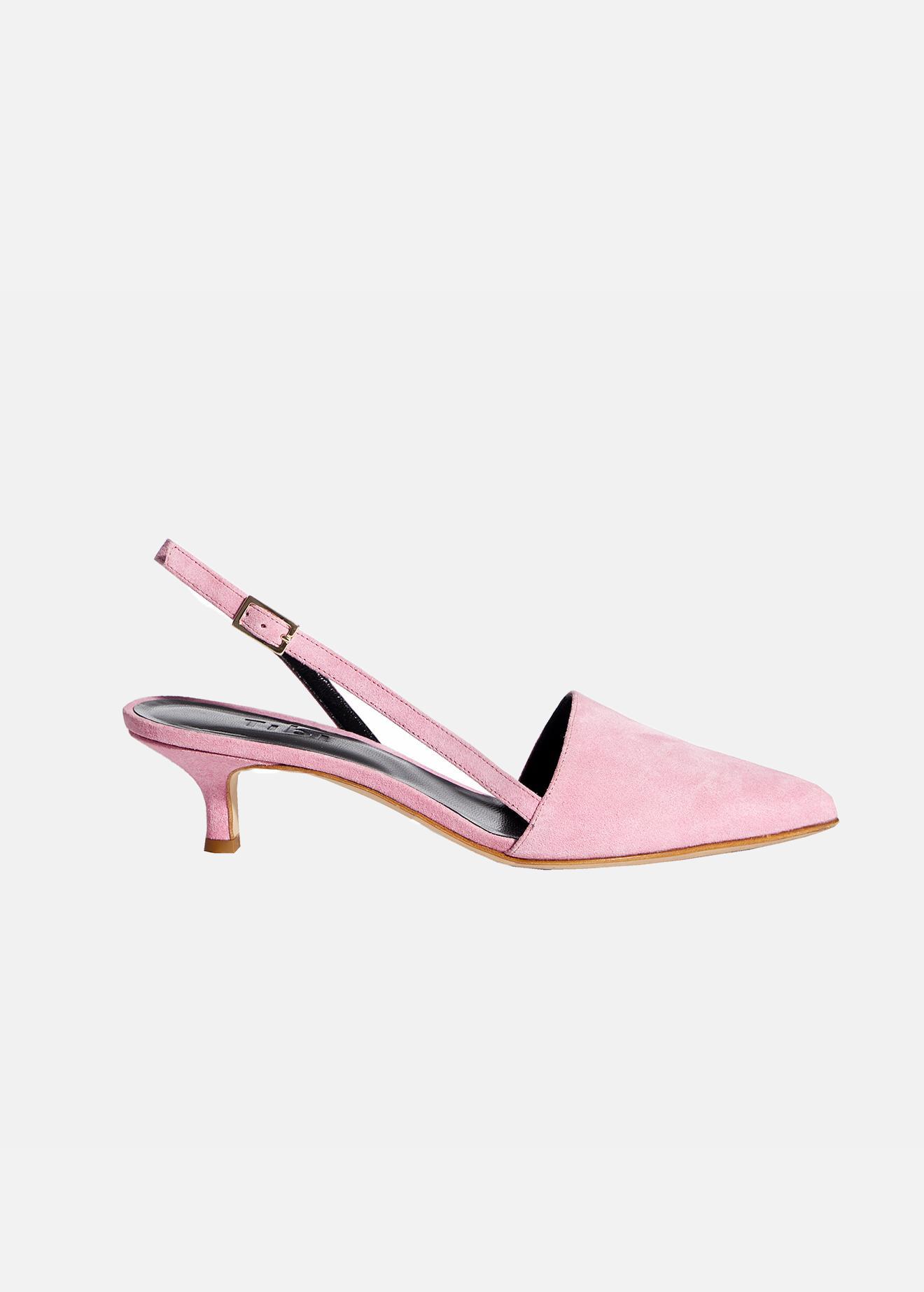 f515fa65b4c Lyst - Tibi Simon Heels in Pink