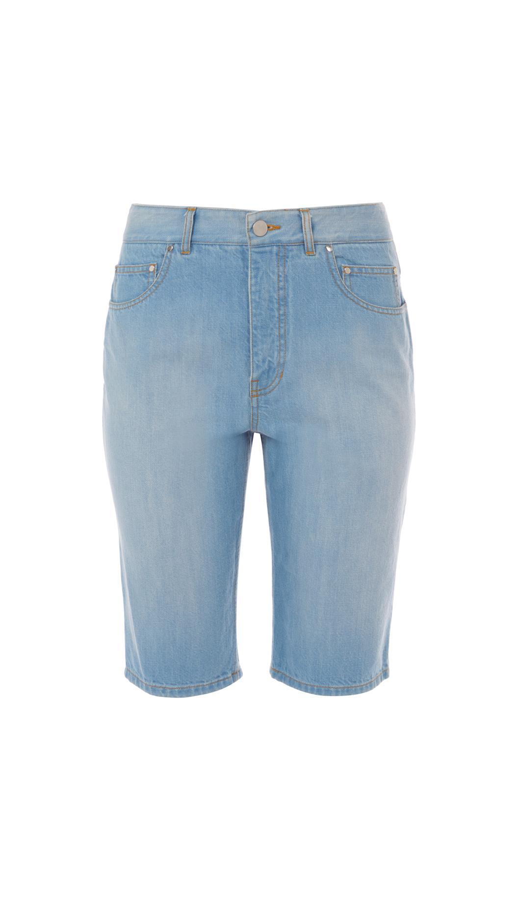 Trish Short in Blue Tibi asObV5Uu