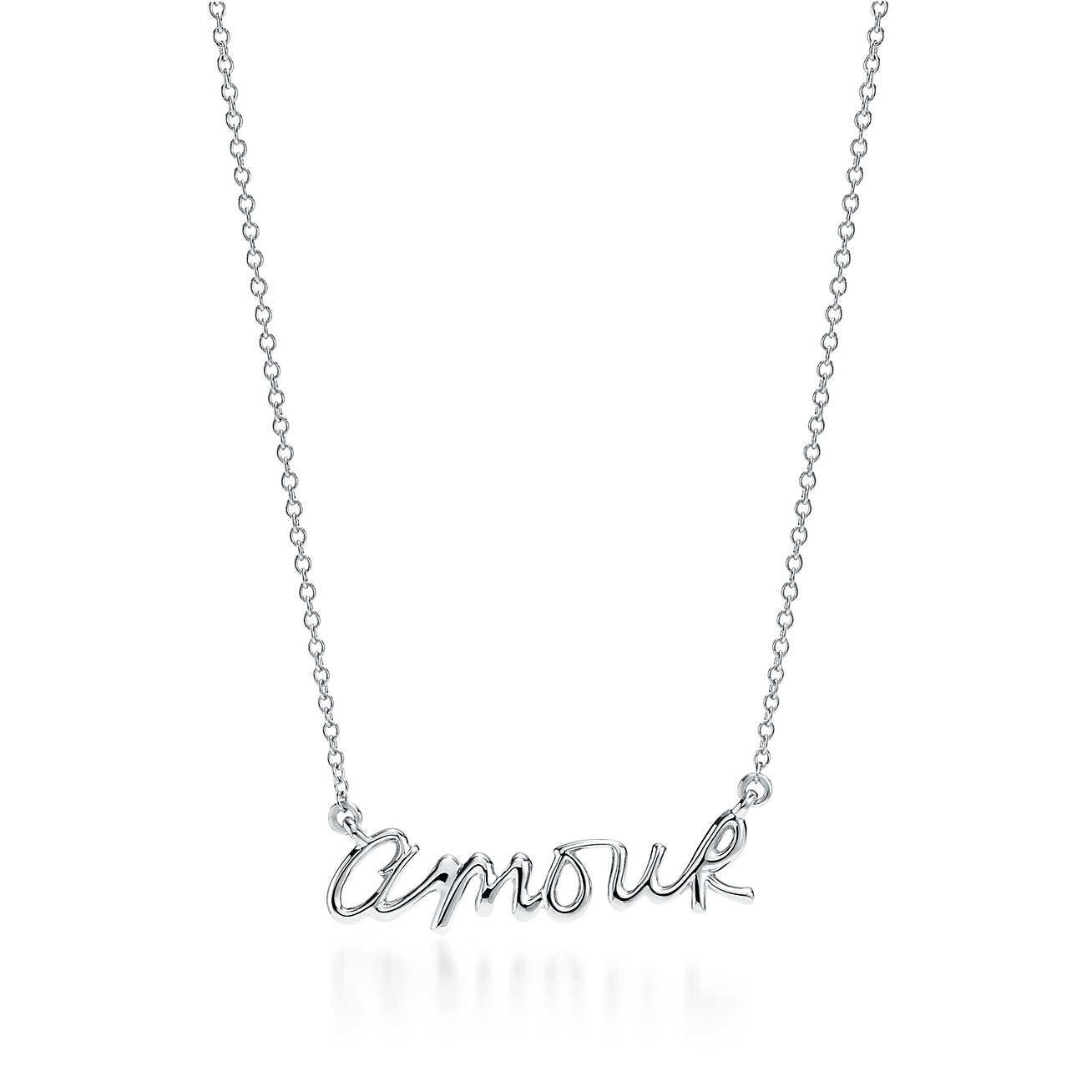 852bf45b7528 Tiffany   Co. Paloma s Graffiti Amour Pendant In Sterling Silver in ...