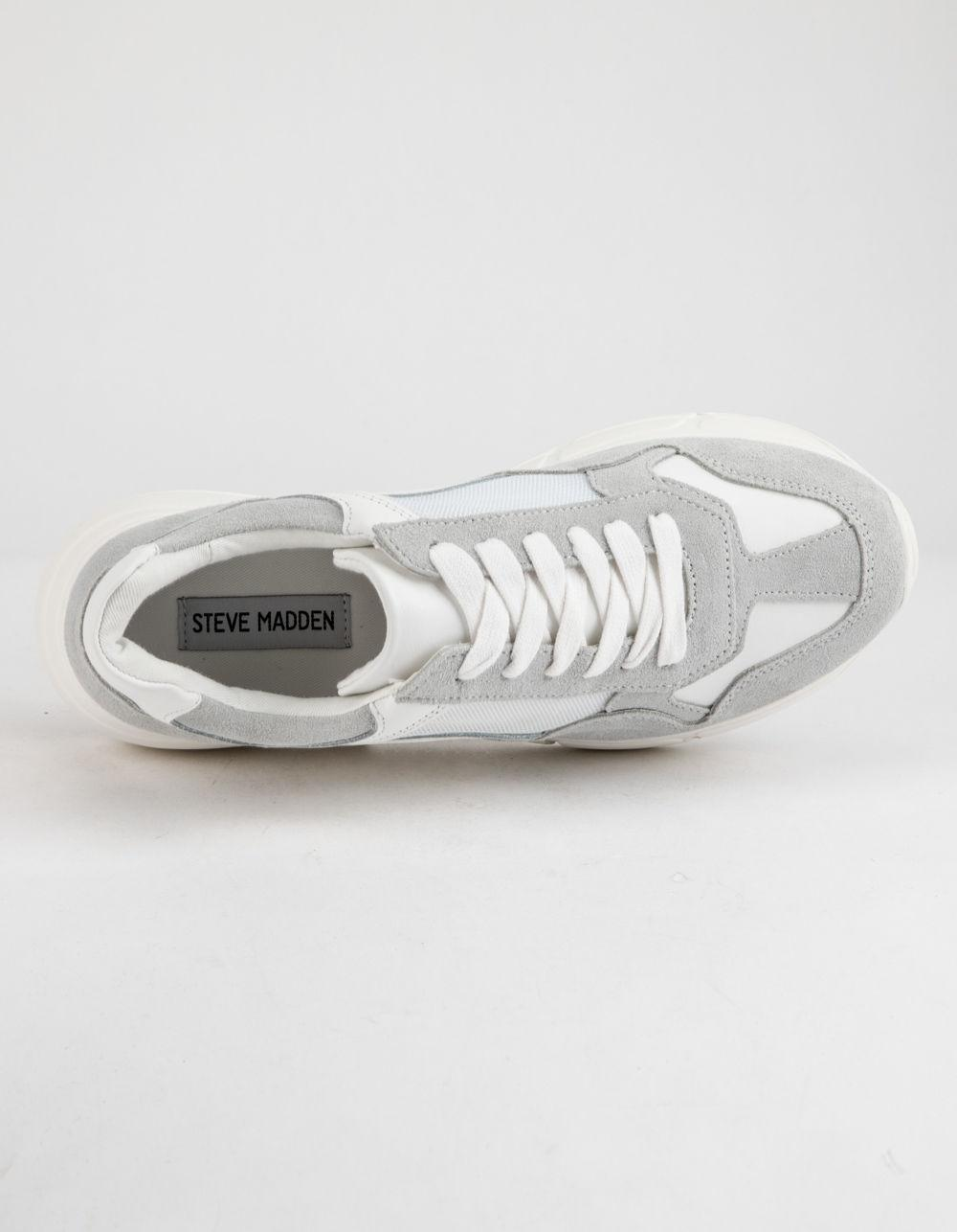 13a7b082faf Steve Madden - Memory White Womens Shoes - Lyst. View fullscreen