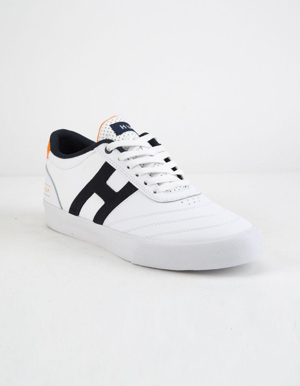 e897d17b1f0f Lyst - Huf Galaxy White Orange   Navy Mens Shoes in White for Men