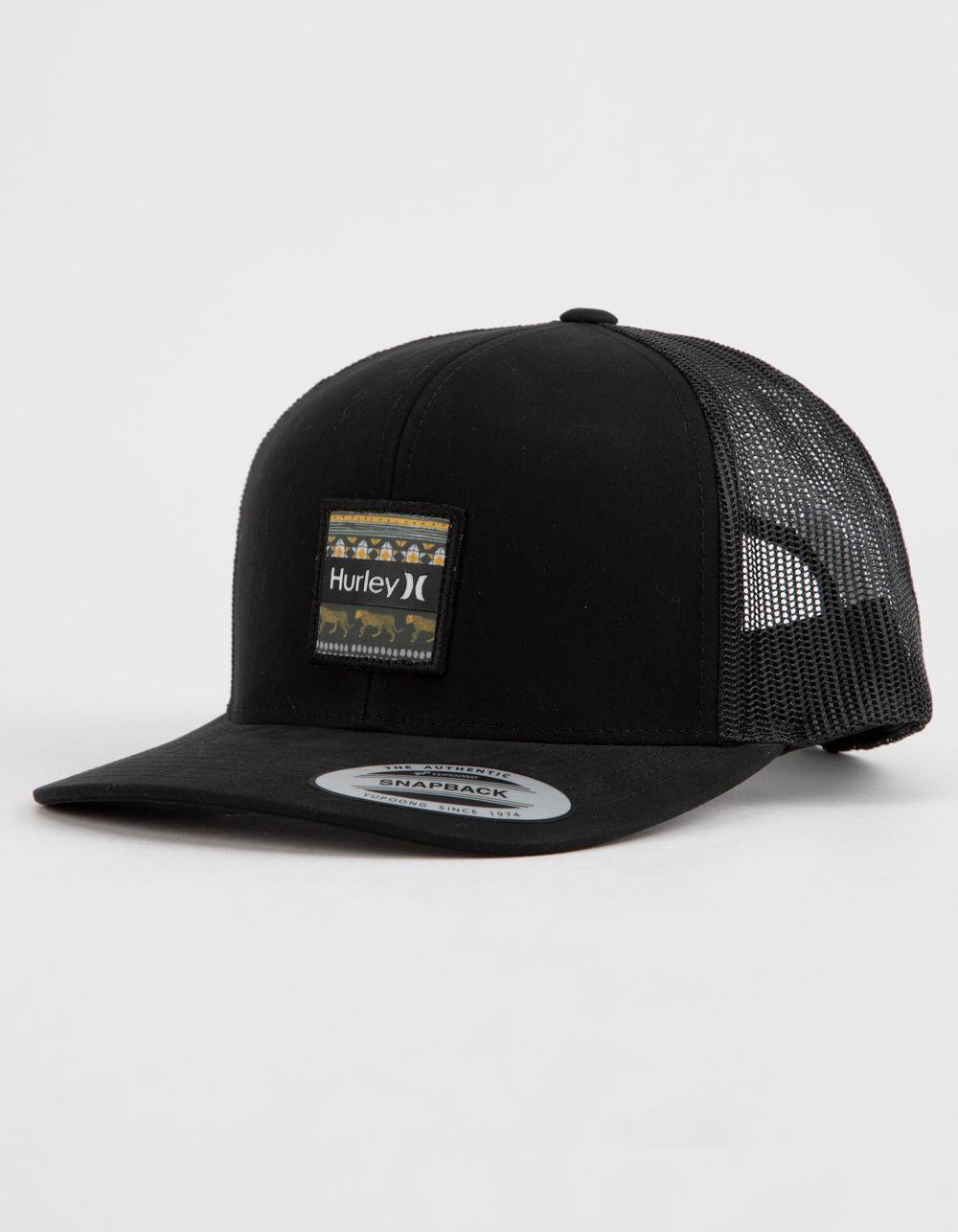 Hurley - Black Bayside Mens Trucker Hat for Men - Lyst. View fullscreen 7ba2895ee79c