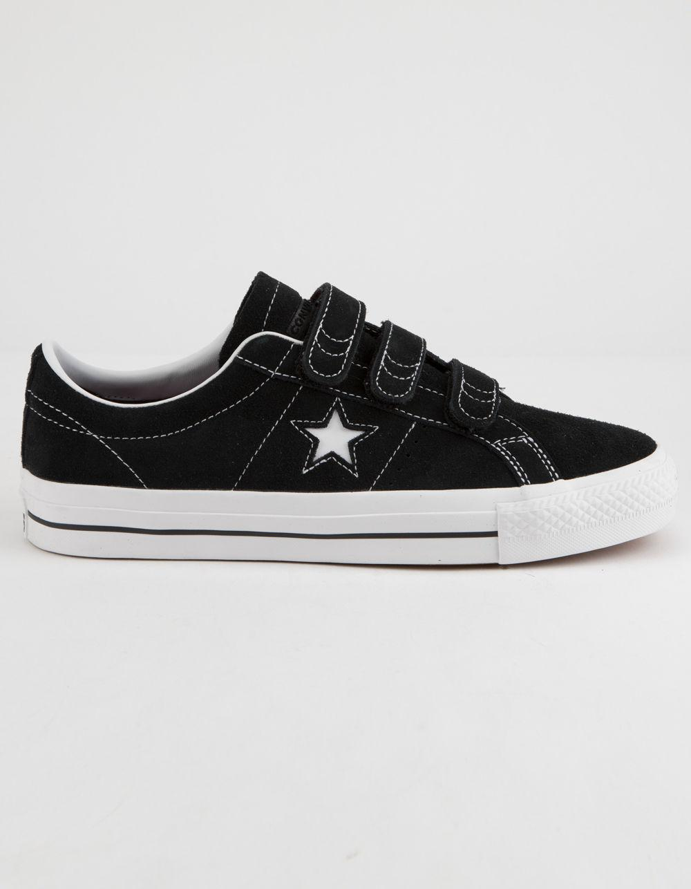 e838c1879a9 Lyst - Converse One Star Pro 3v Ox Black   White Shoes in Black for Men