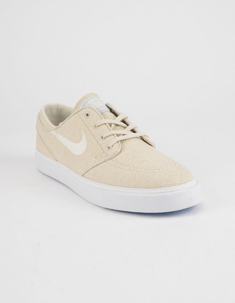 6ff00fe3e97410 Lyst - Nike Zoom Stefan Janoski Canvas Fossil   Sail White Mens Shoes in  White for Men