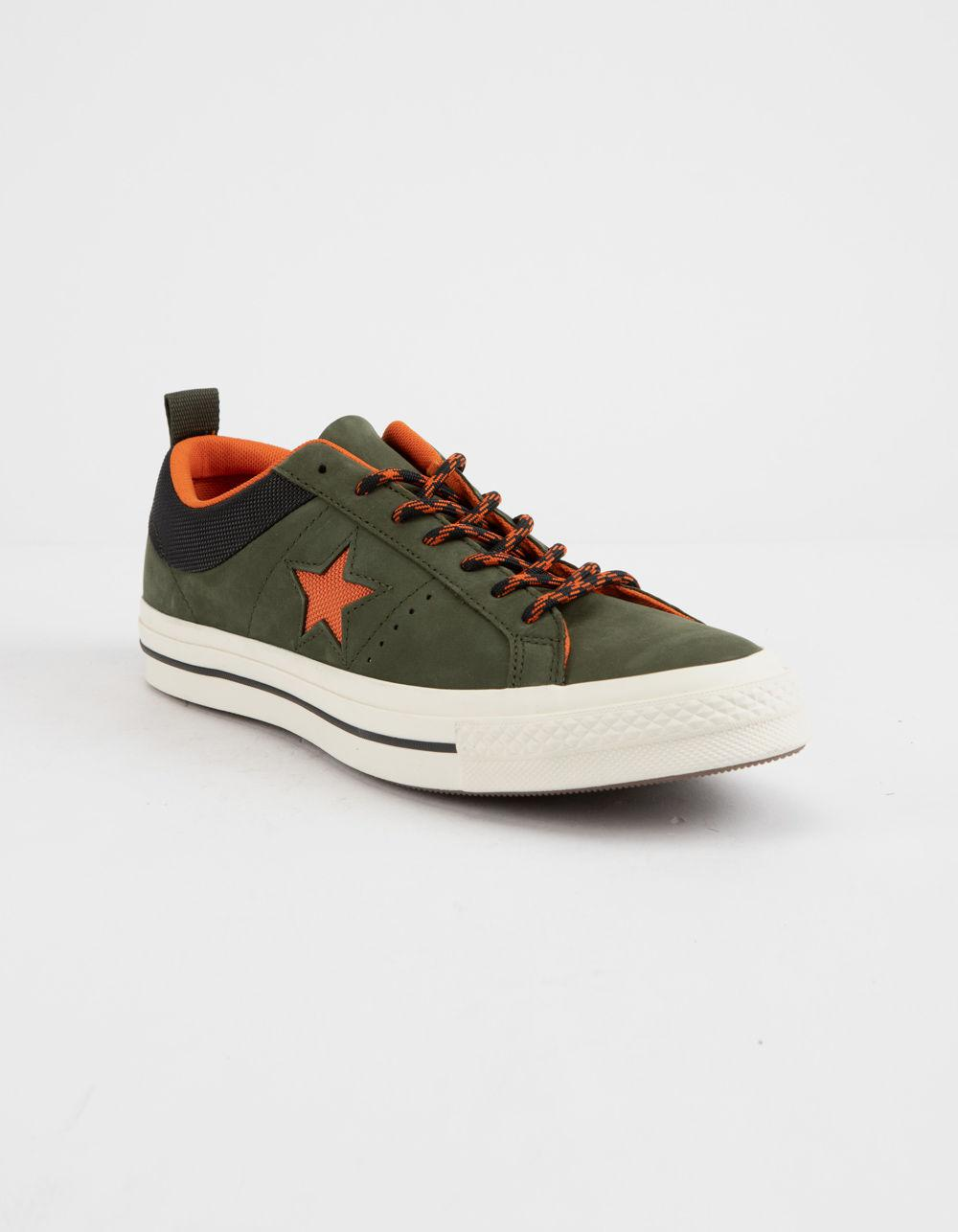 0af2f07520d Lyst - Converse One Star Ox Sierra Low Top Shoes in Green
