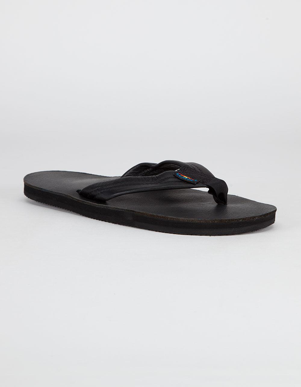 c2ee204b1107b Lyst - Rainbow Sandals Premier Leather Mens Sandals in Black for Men