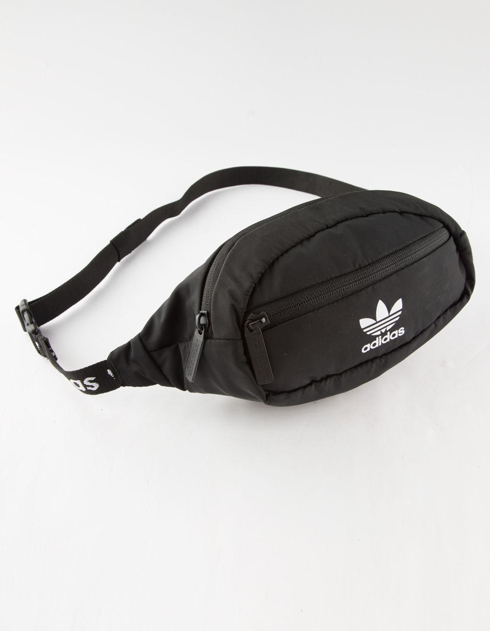 d744cb9477 Adidas - Originals Black   White Fanny Pack for Men - Lyst. View fullscreen