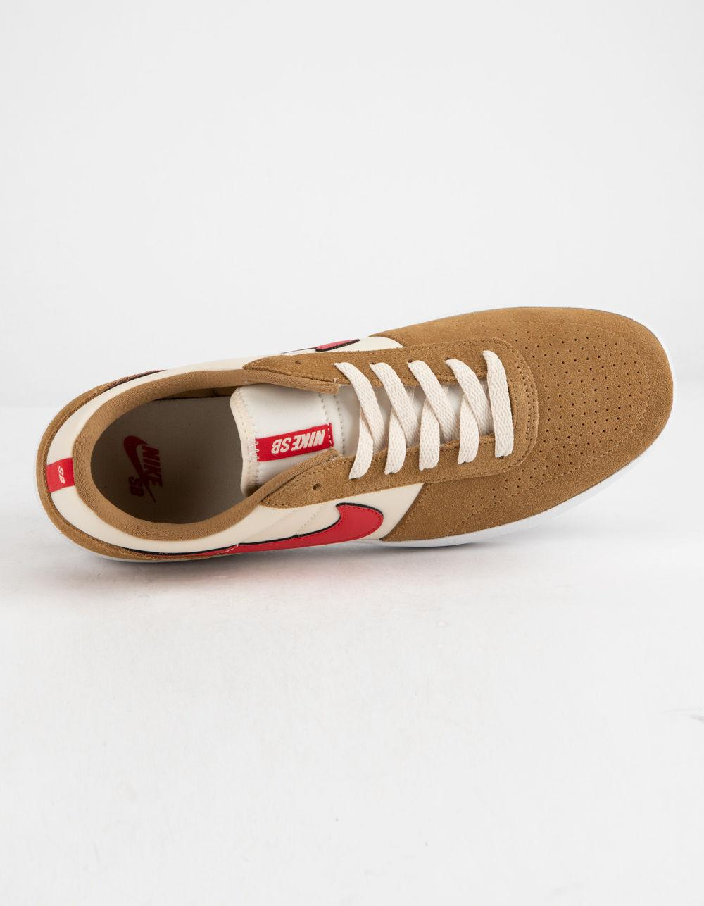 e9fb8e819d625 Lyst - Nike Team Classic Golden Beige & University Red Mens Shoes ...