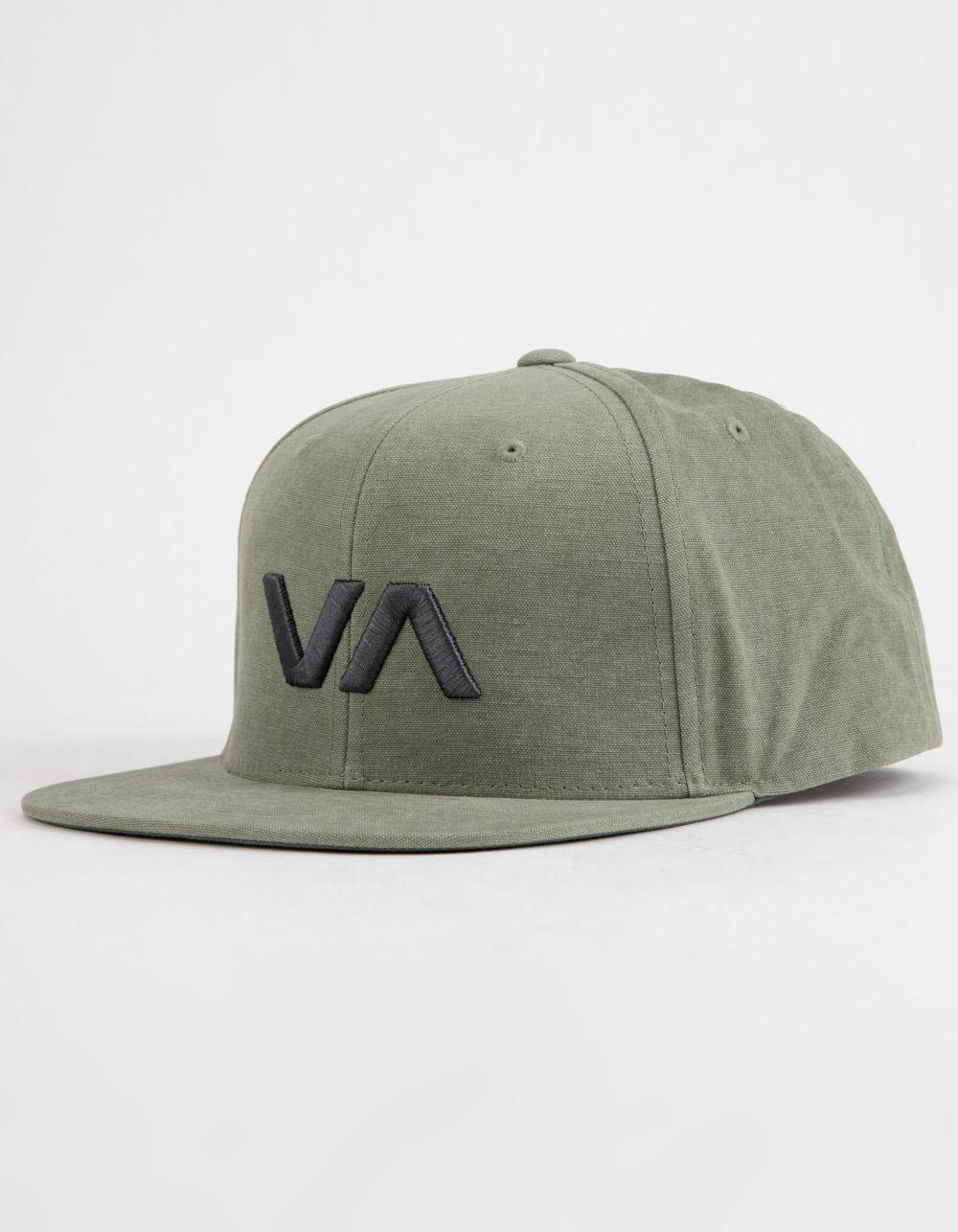 7c566cccdfe Lyst - RVCA Va Ii Mens Snapback in Green for Men
