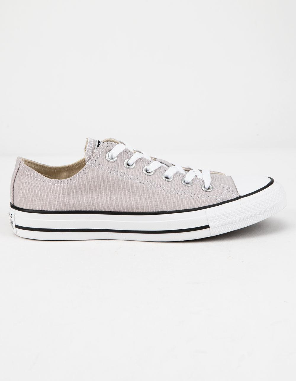 5f45d218b6ed Lyst - Converse Chuck Taylor All Star Violet Ash Low Top Womens ...