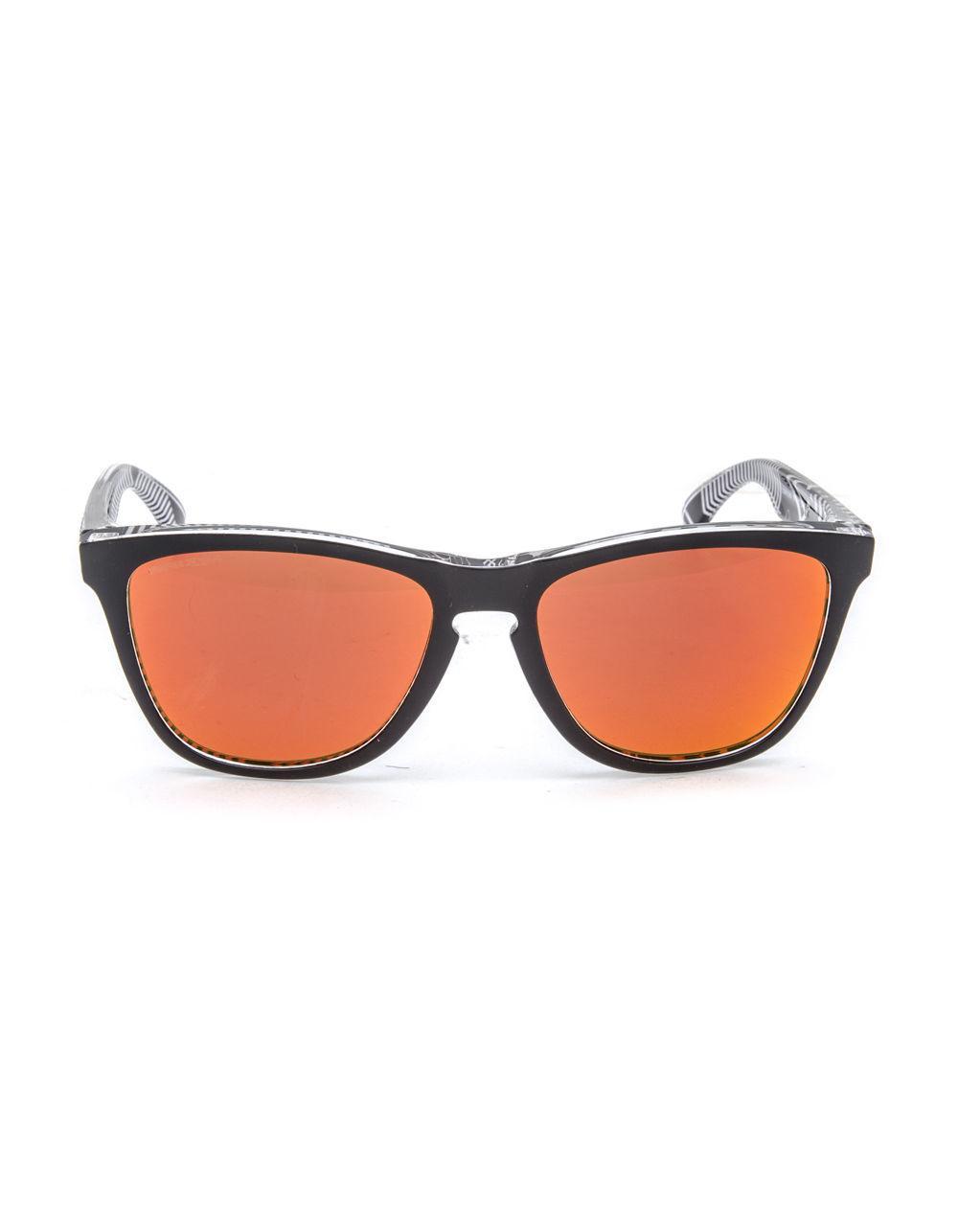 5defd89738 Lyst - Oakley Frogskins Urban Commuter Tokyo Black   Prizm Ruby Sunglasses  for Men