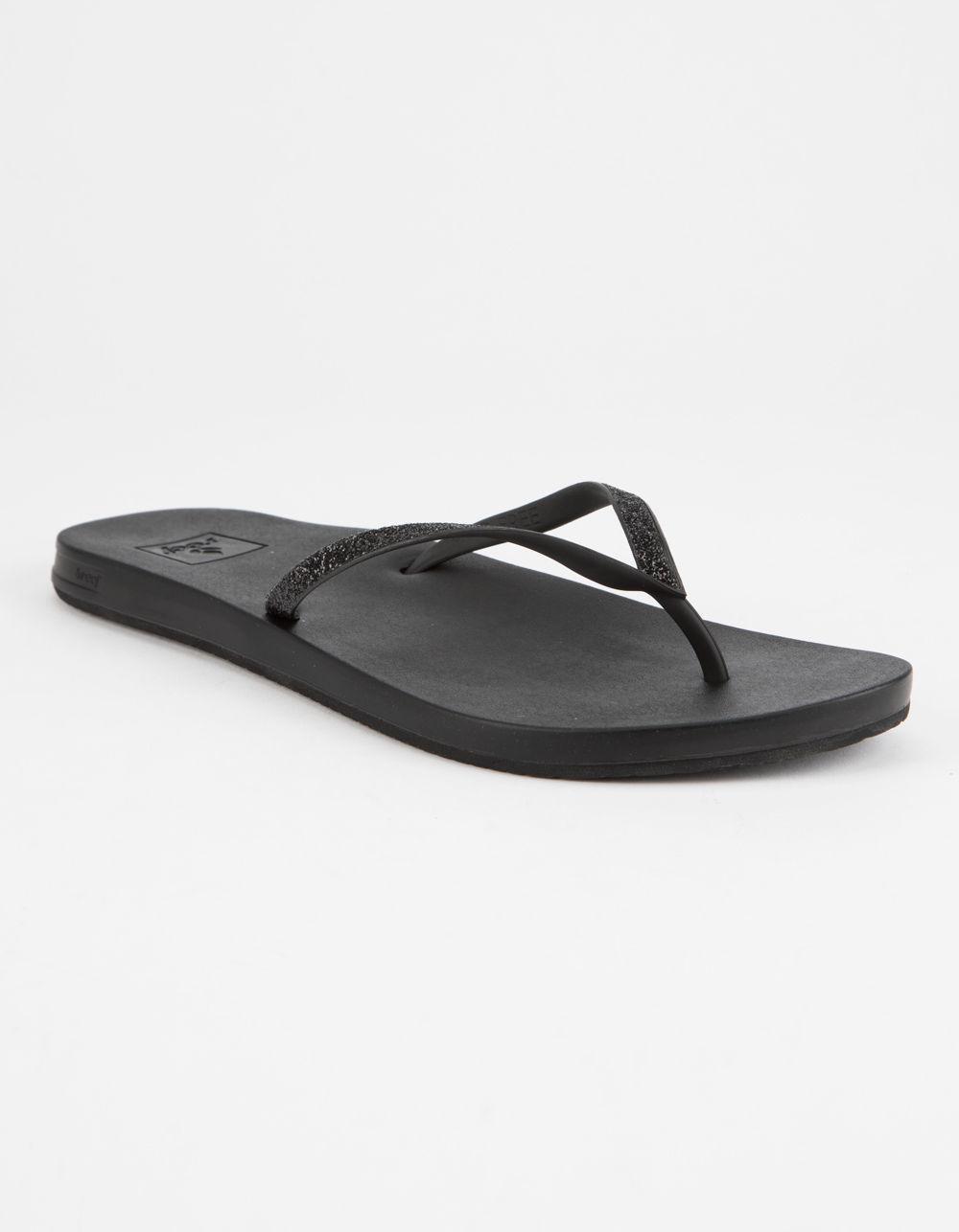 09f06048a551 Lyst - Reef Cushion Bounce Stargazer Womens Sandals in Black