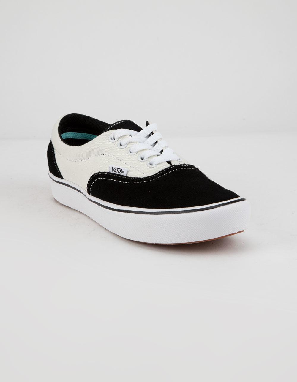 3fcf4efd68e8fa Lyst - Vans Comfycush Era Black   Mars Shoes in Black