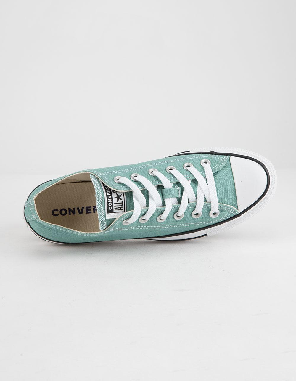 5afb97259e1 Converse - Blue Chuck Taylor All Star Mineral Teal Low Top Womens Shoes -  Lyst. View fullscreen