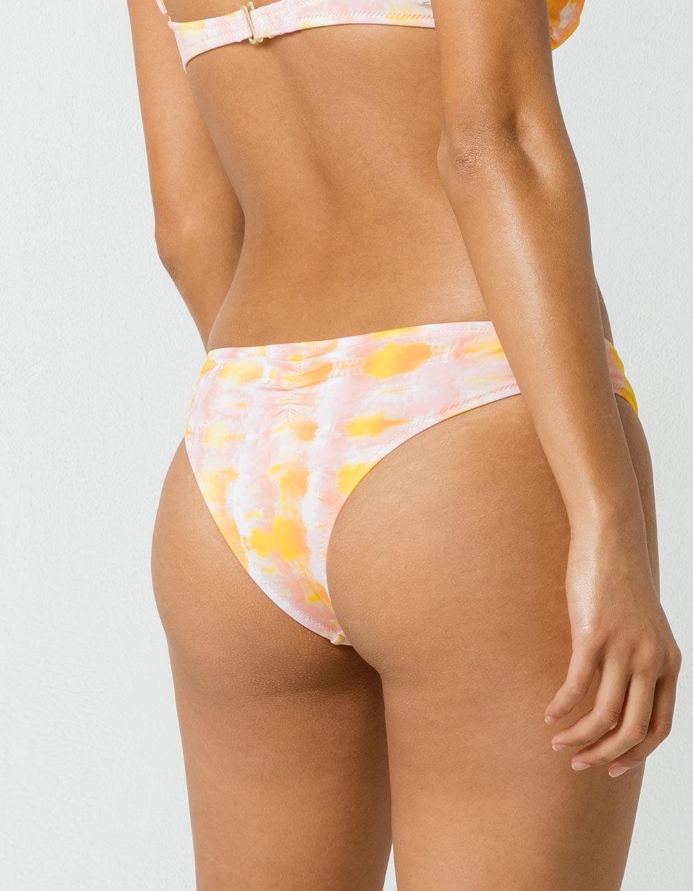 6a3b4c2029 Rhythm - Multicolor Cancun Sunset Cheeky Bikini Bottoms - Lyst. View  fullscreen