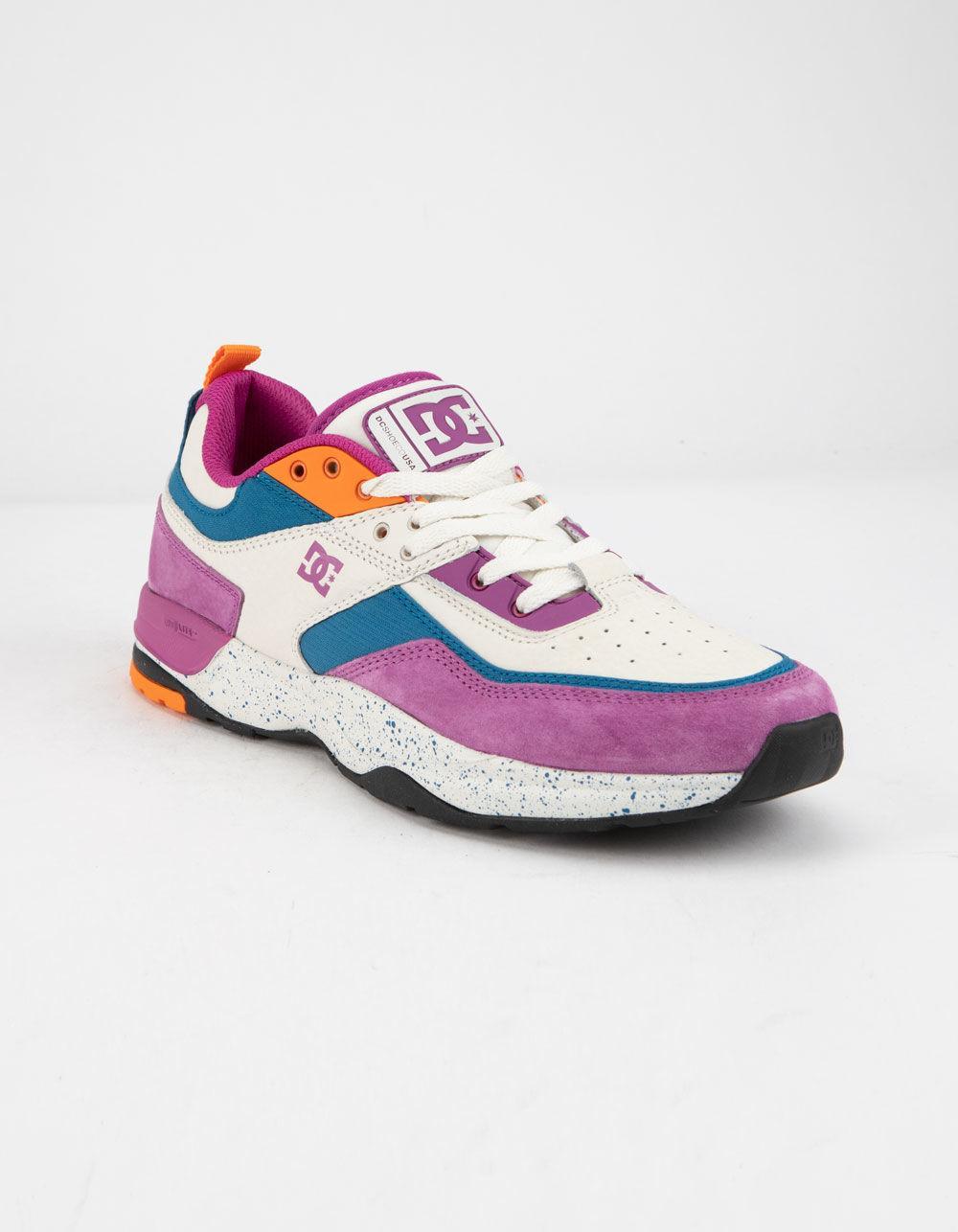ac82ce6966fb57 Lyst - DC Shoes E.tribeka Le Leather Violet   Fire Mens Shoes for Men