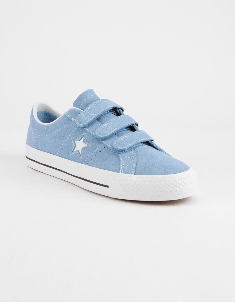 57ab0eebd38 Lyst - Converse One Star Pro 3v Ox Light Blue   White Shoes in Blue for Men
