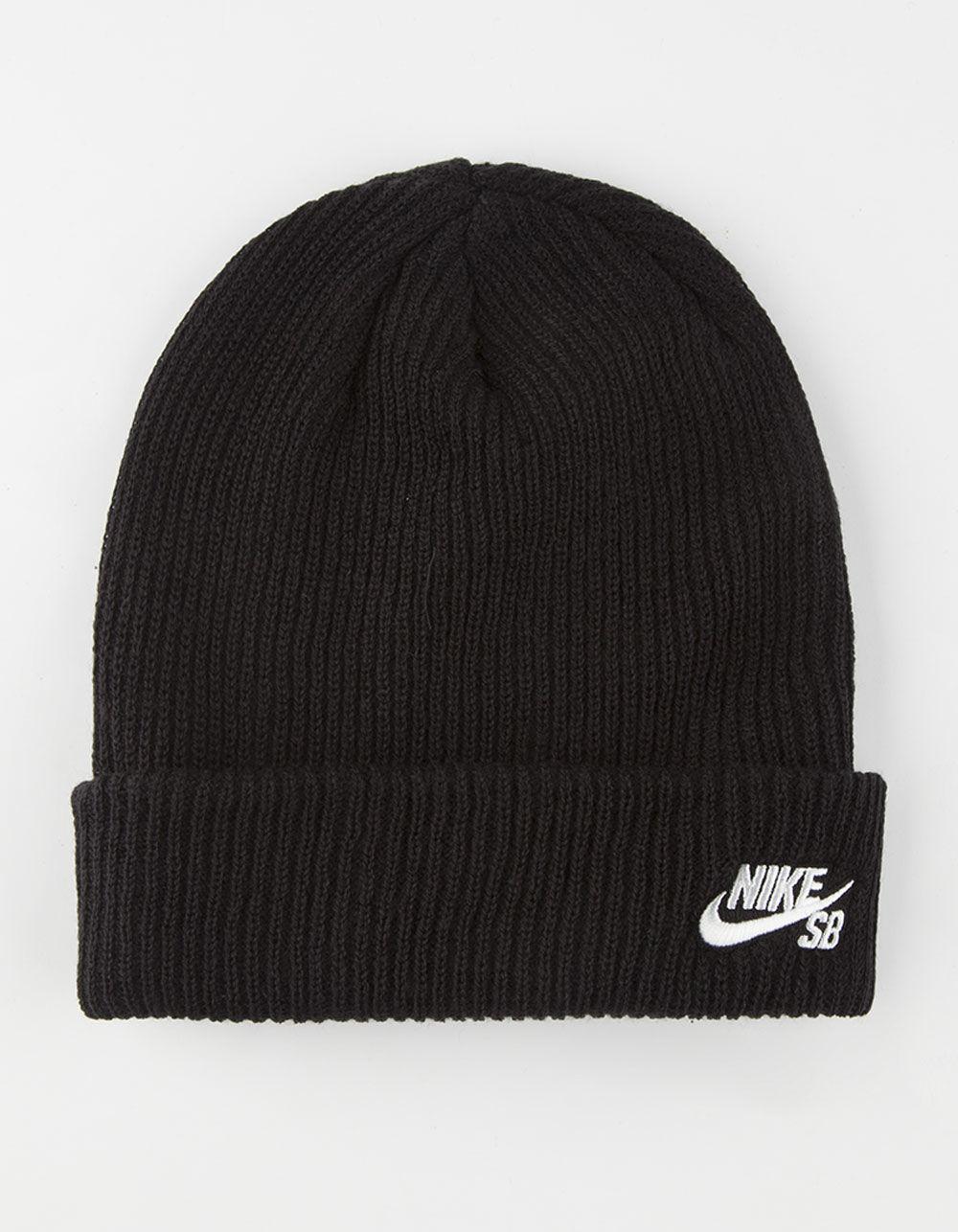 735765ec3ed5 Lyst - Nike Fisherman Beanie in Black for Men - Save 29%