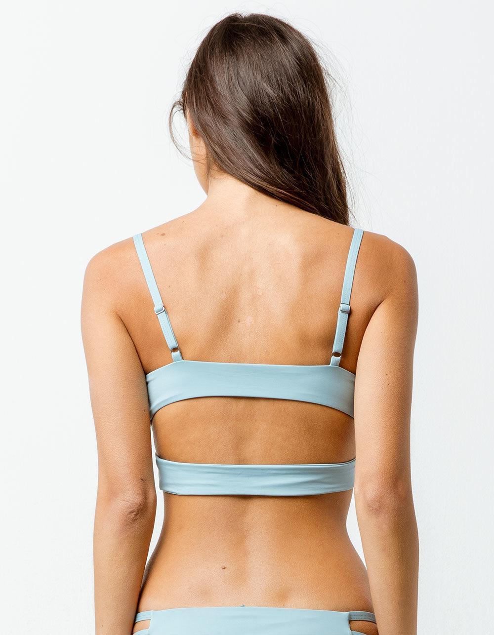 f51f1f82de8f6 Tavik Jessi Cloud Blue Triangle Bikini Top in Blue - Lyst