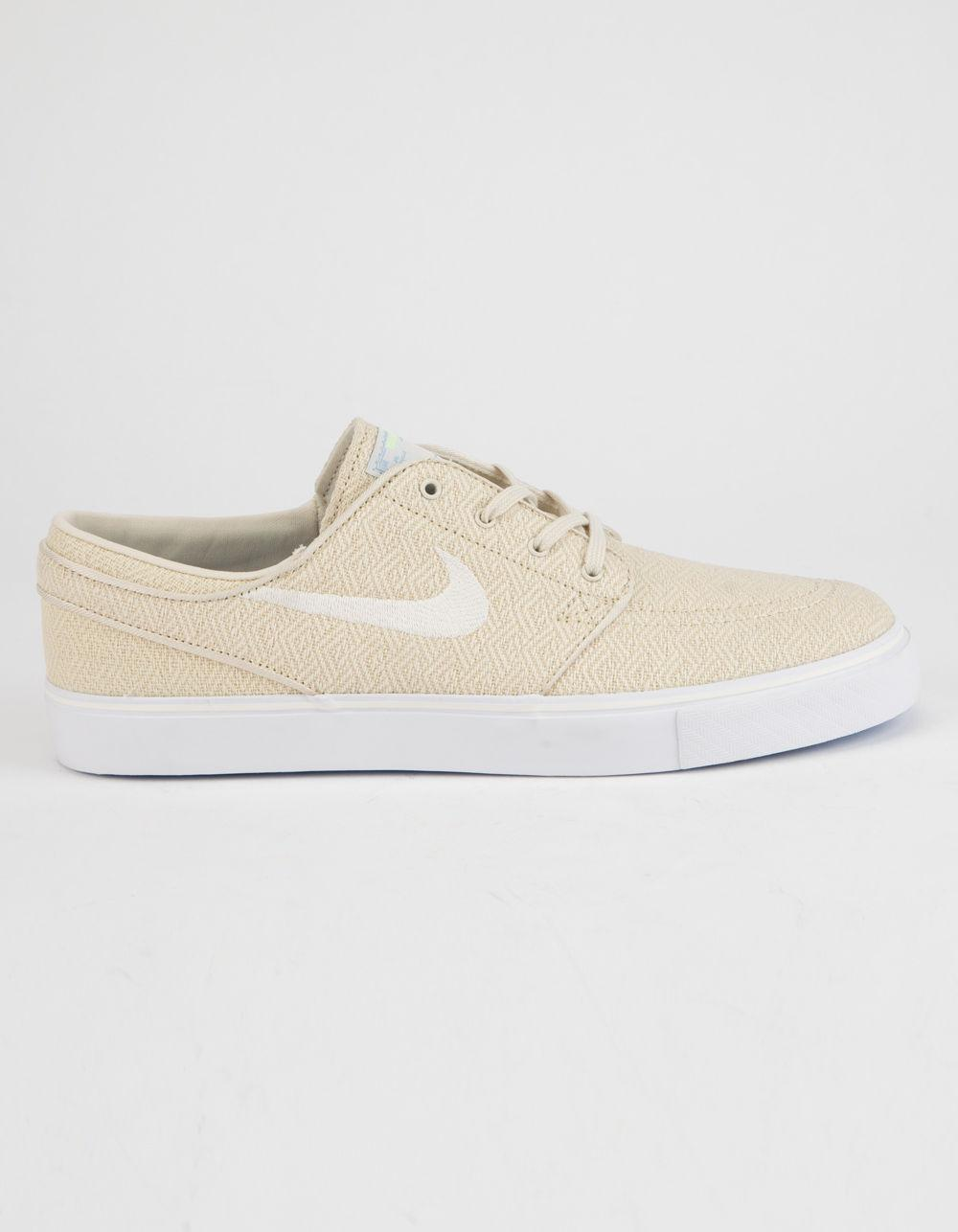 Lyst - Nike Zoom Stefan Janoski Canvas Fossil   Sail White Mens ... 233eecb2b5393