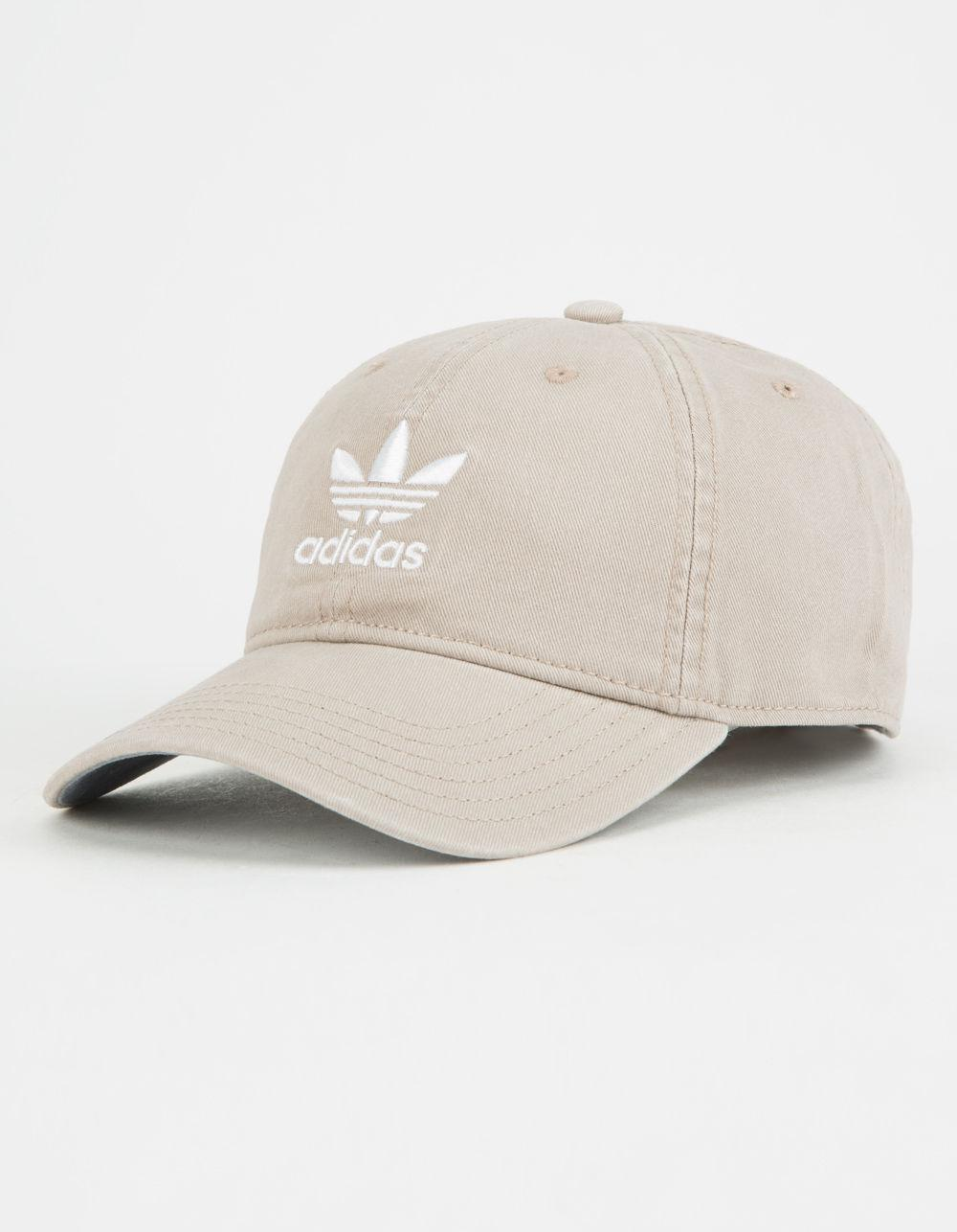 Lyst - adidas Originals Relaxed Khaki Mens Dad Hat in Natural for Men 554766cf7dd