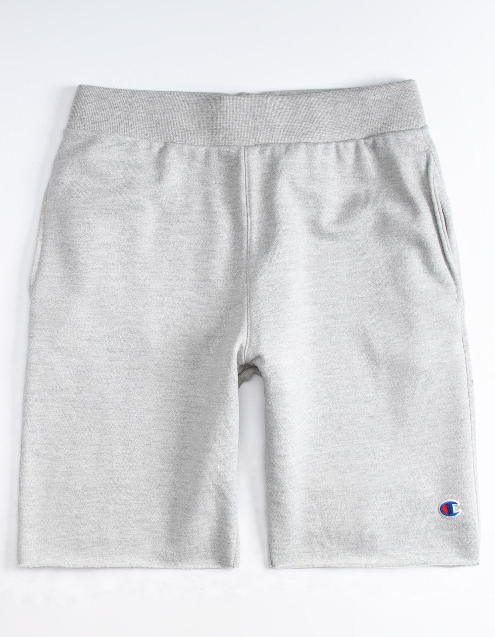 71771a91e38a2 Lyst - Champion Cut Off Mens Sweat Shorts in Gray for Men
