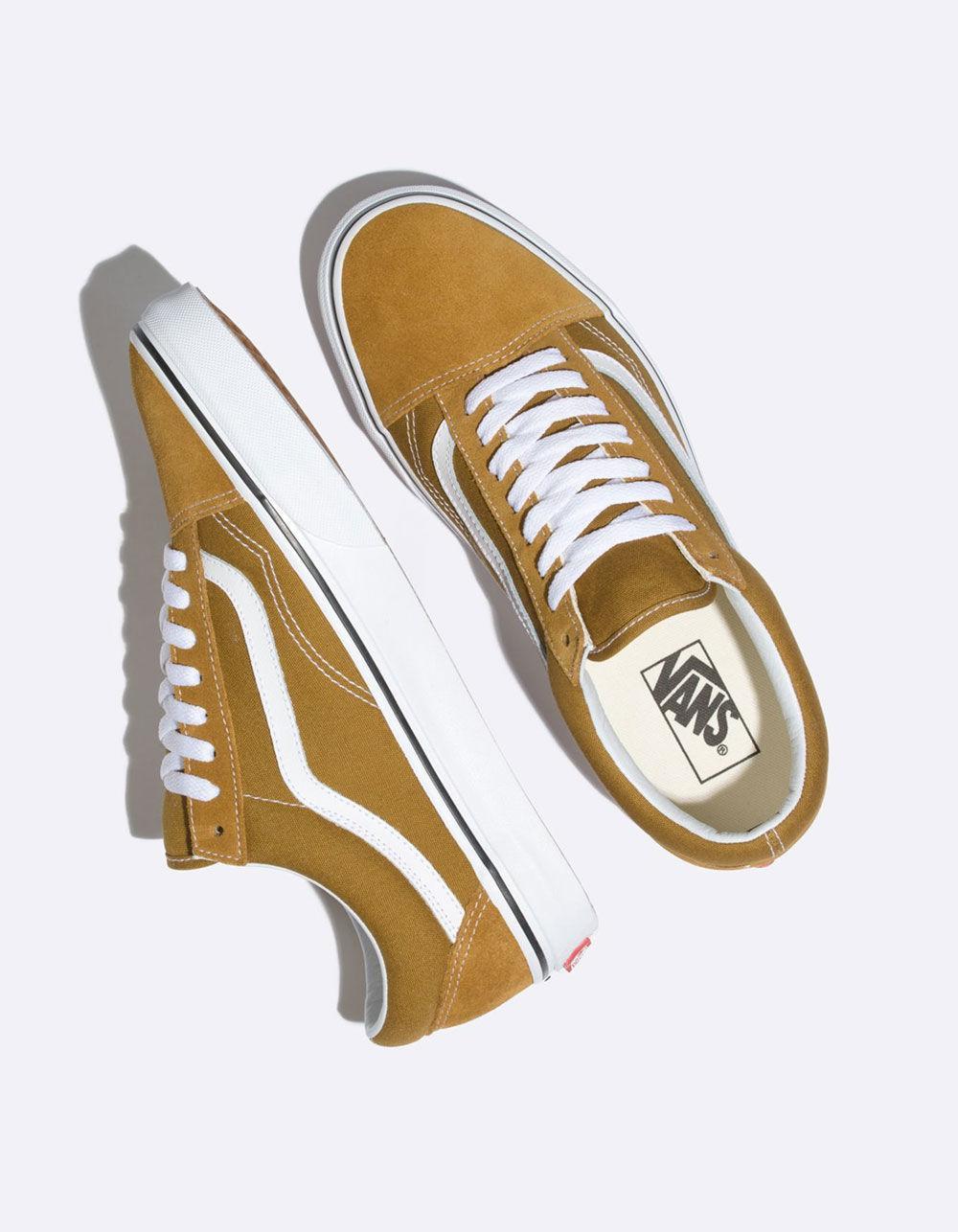 14dd0ef091d0e6 Vans - Old Skool Cumin   True White Shoes - Lyst. View fullscreen