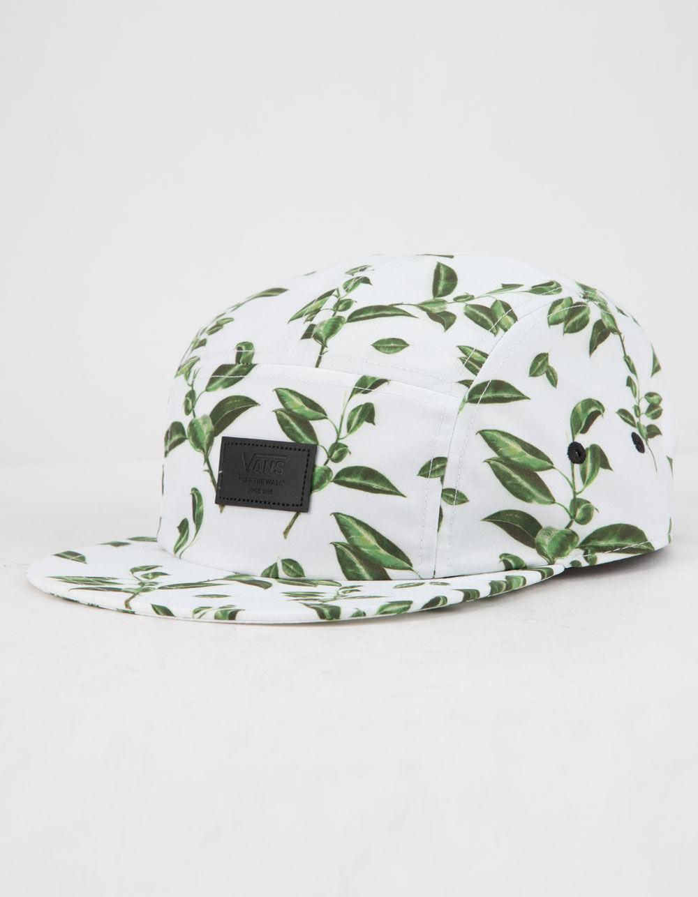 Lyst - Vans Davis 5-panel Rubber Co. Floral Mens Camper Hat in Green ... 9765cdd1c