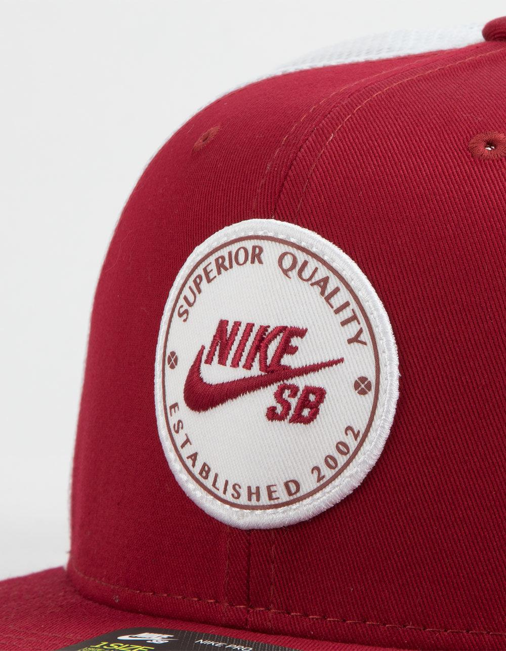 59ea6b42044 Lyst - Nike Patched Mens Trucker Hat in Red for Men