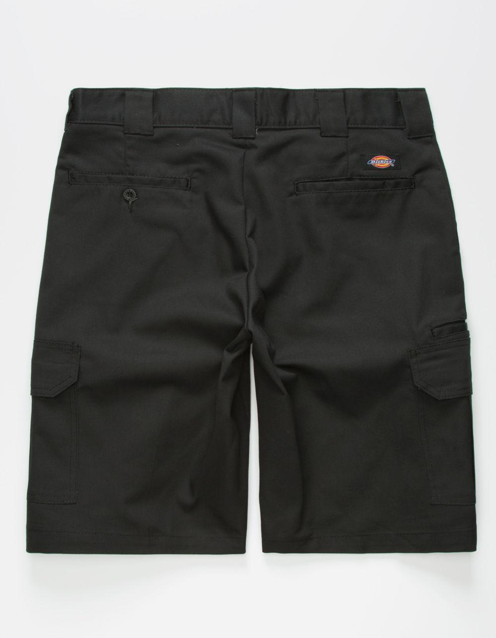 5e894059 Dickies - Flex Relaxed Fit Black Mens Cargo Shorts for Men - Lyst. View  fullscreen