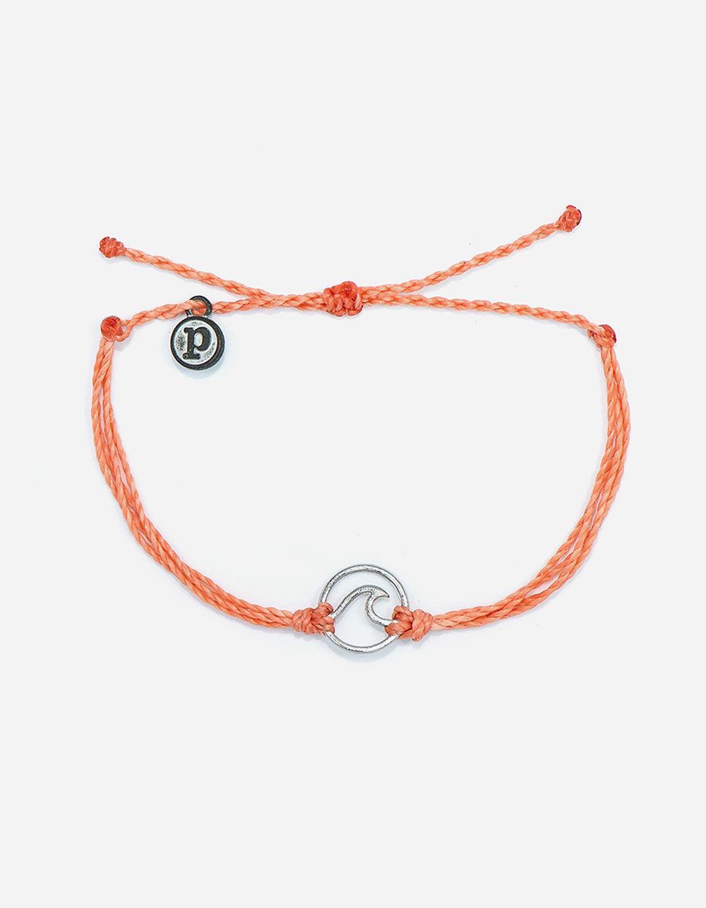 Pura Vida Women S Pink Wave Bracelet