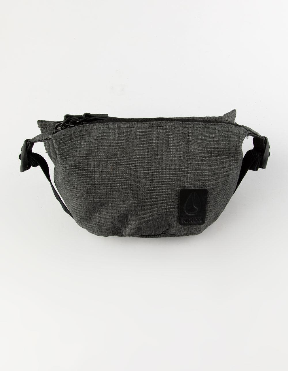 d14217b270 Lyst - Nixon Trestles Charcoal Heather Fanny Pack in Gray for Men