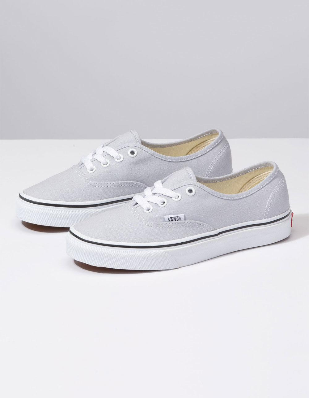 d544814e61 Lyst - Vans Authentic Gray Dawn   True White Womens Shoes in White