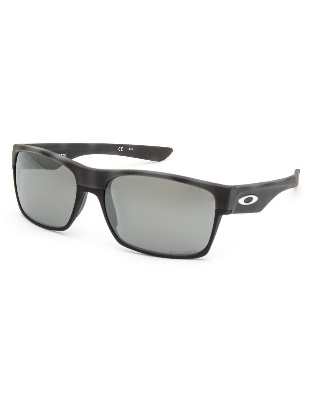 475f206f06 Lyst - Oakley Twoface Black Camo   Prizm Black Polarized Sunglasses ...
