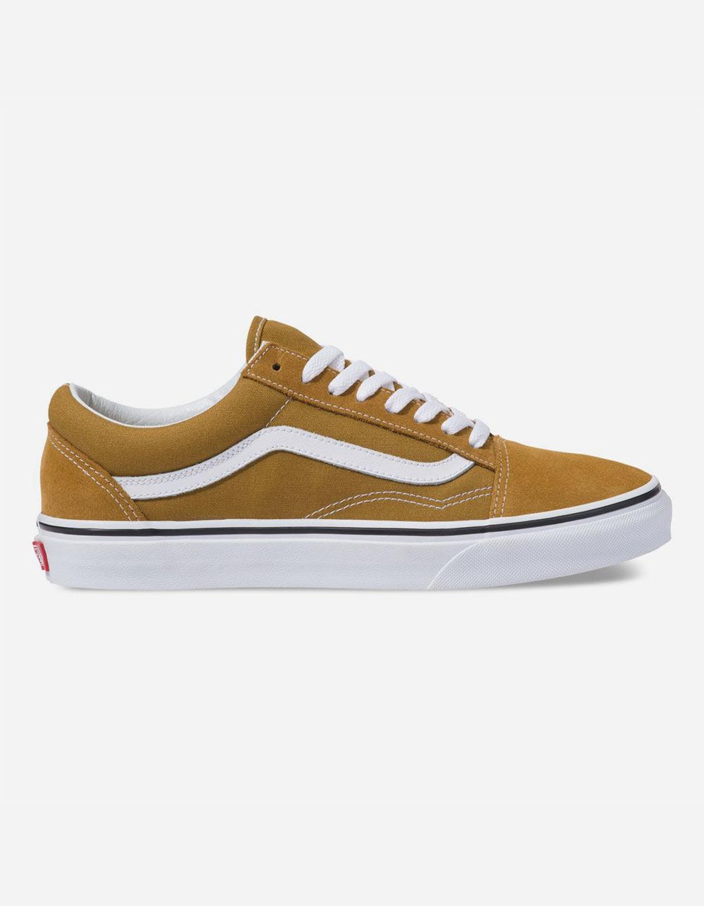Lyst - Vans Old Skool Cumin   True White Shoes in White 27a5acb84