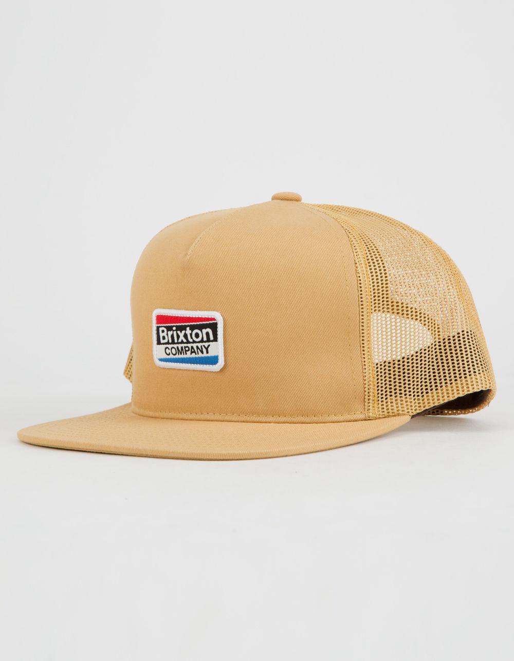 Lyst - Brixton Worden Mens Trucker Hat in Metallic for Men 40b5bf55706c