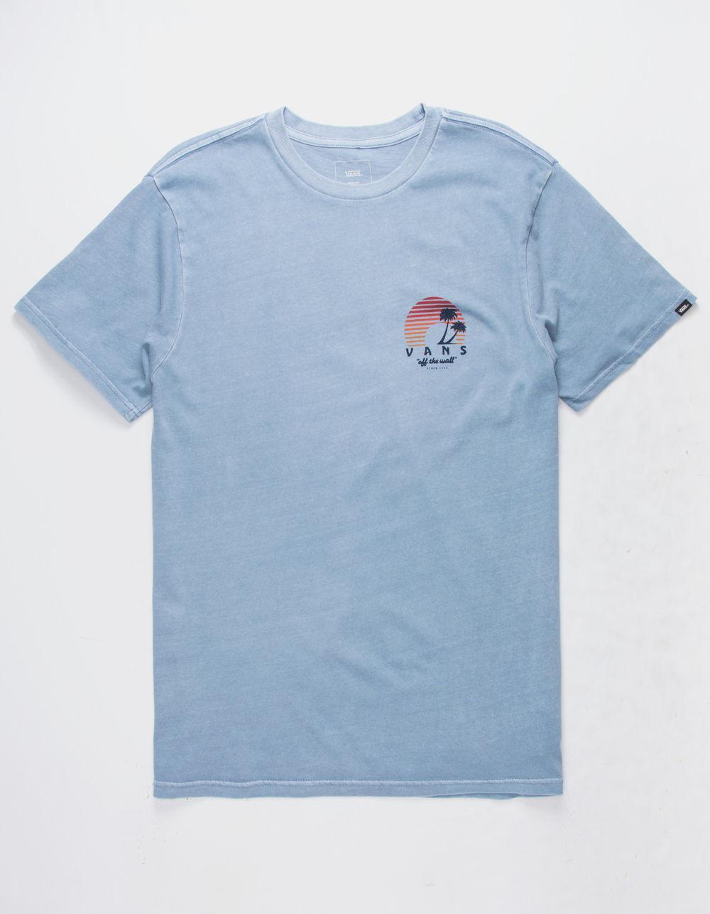 b2373c8995 Lyst - Vans Vintage Otw Sunset Mens T-shirt in Blue for Men - Save 32%