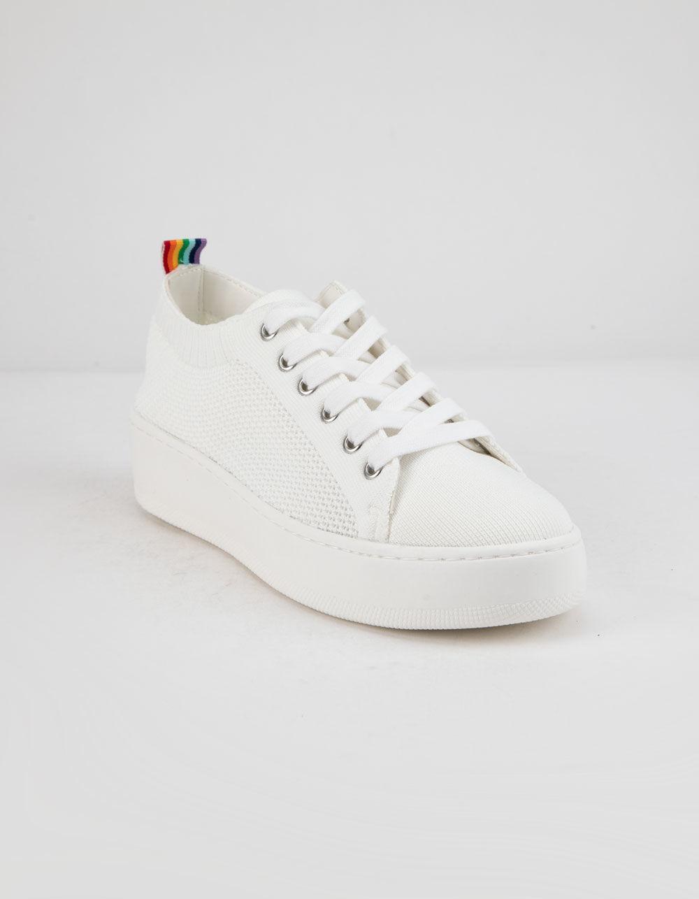 36619d7cc24 Lyst - Steve Madden Bardo White Womens Shoes in Black