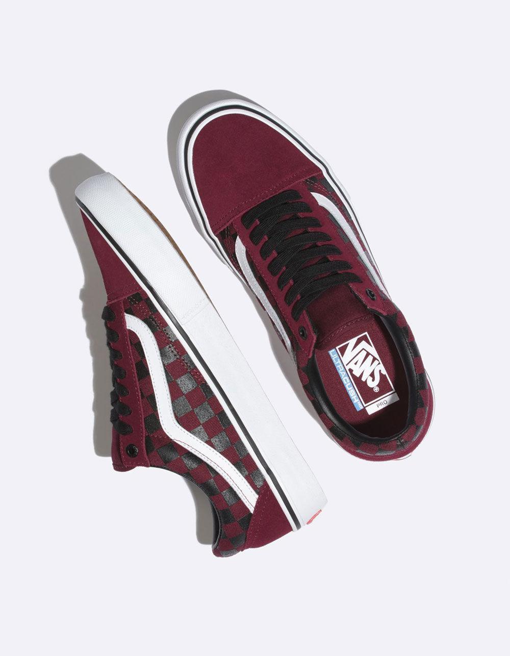 65b482c99ea9 Vans - Multicolor The Rubber Print Old Skool Pro Port Royal Shoes for Men -  Lyst. View fullscreen