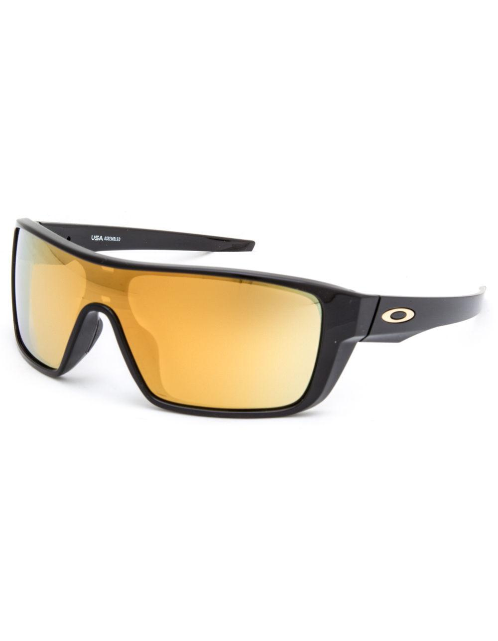e71ffe1d7d Lyst - Oakley Straightback Polished Black   24k Iridium Sunglasses ...