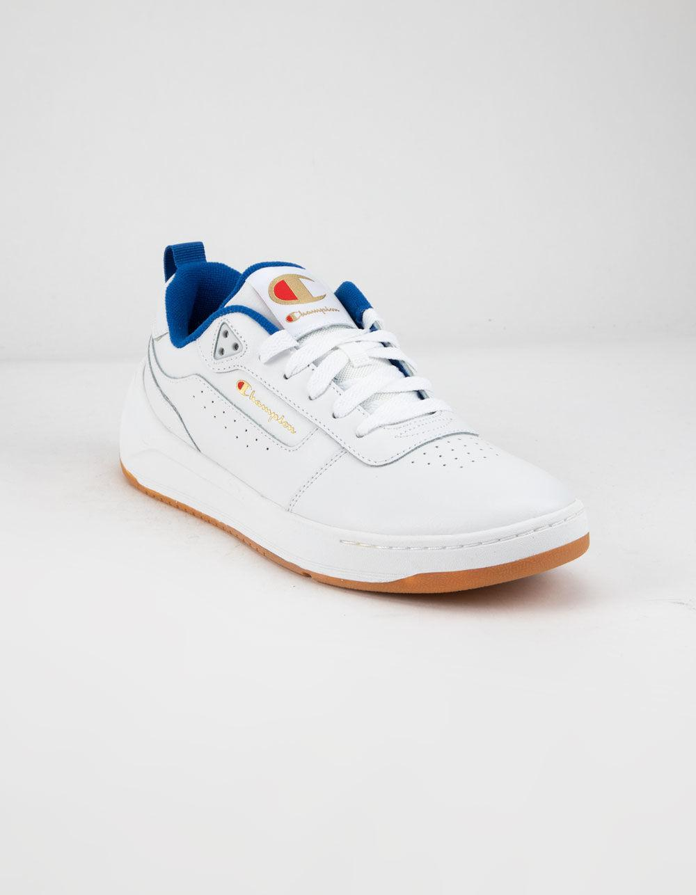 79435f0d026ab Lyst - Champion Super C Court Classic Leather White Mens Shoes in White for  Men