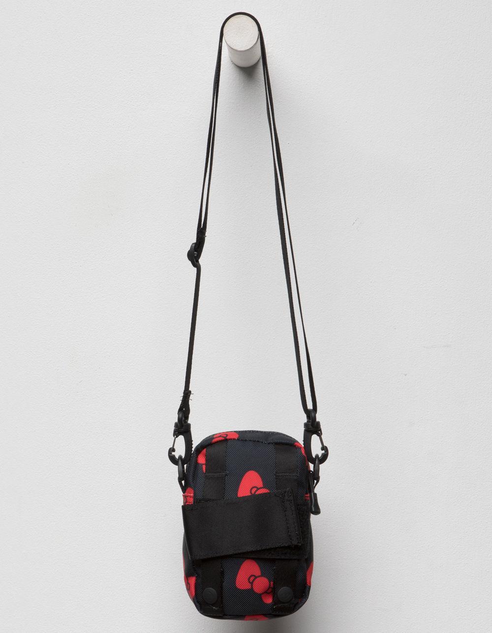 24d8c13ca Converse X Hello Kitty Black Mini Crossbody Bag in Black - Lyst