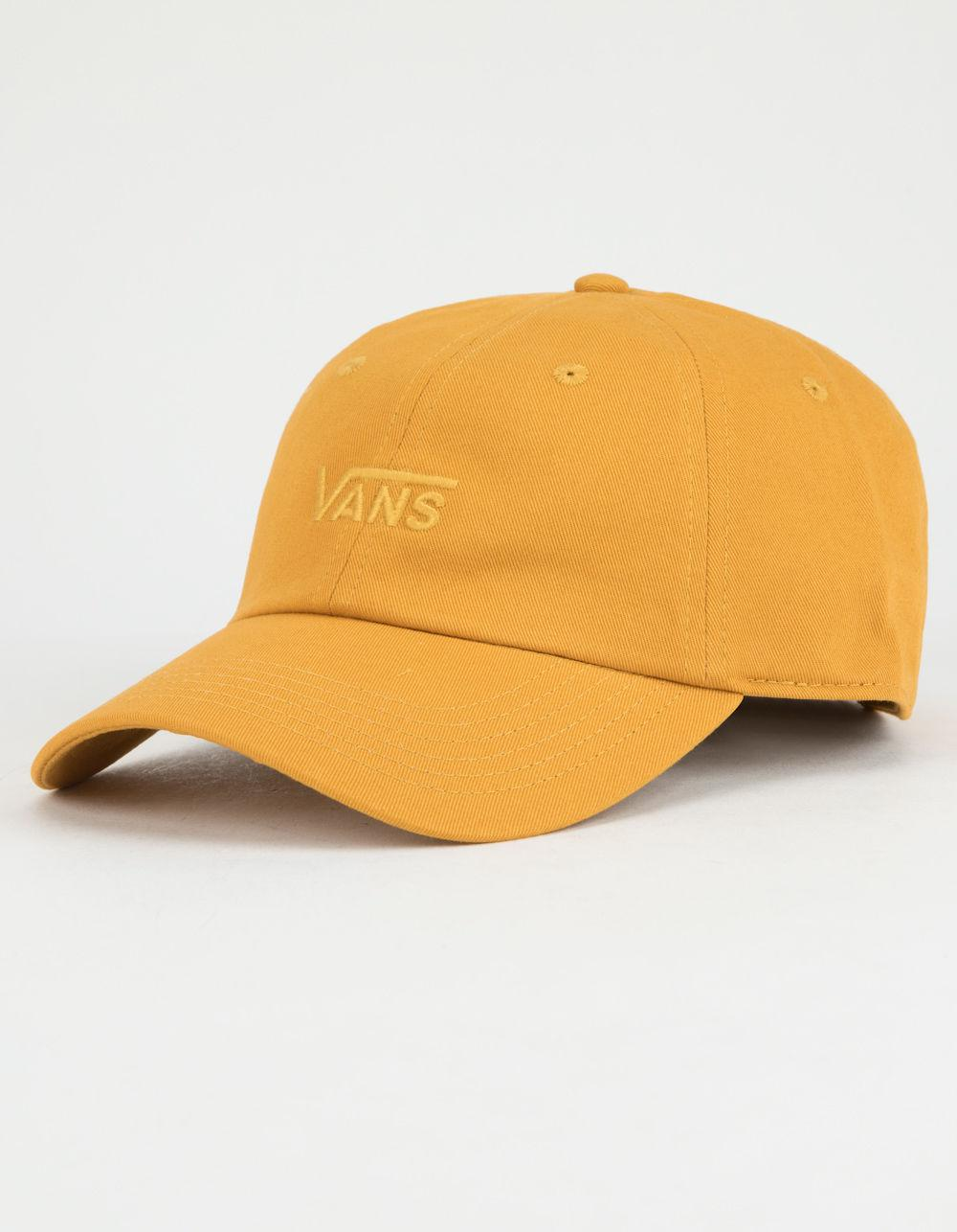 c44d7d19eafc3 Vans Court Side Womens Dad Hat in Yellow - Lyst