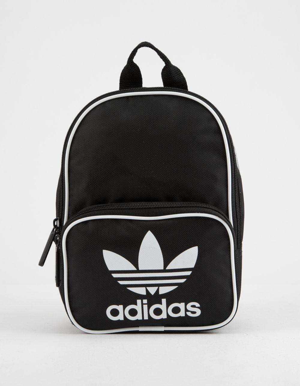 08da28f7de7 Adidas - Originals Santiago Black Mini Backpack - Lyst. View fullscreen